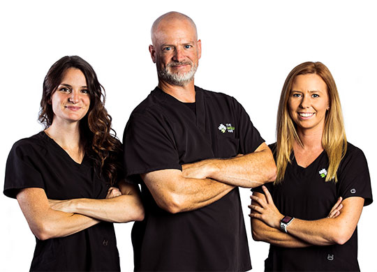 Photo of the staff at Liberty Chiropractic